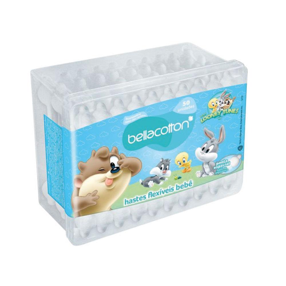 ad115c2aa7 Hastes Looney Tunes Pote 50Und Baby Bellacotton   Supermed Produtos ...